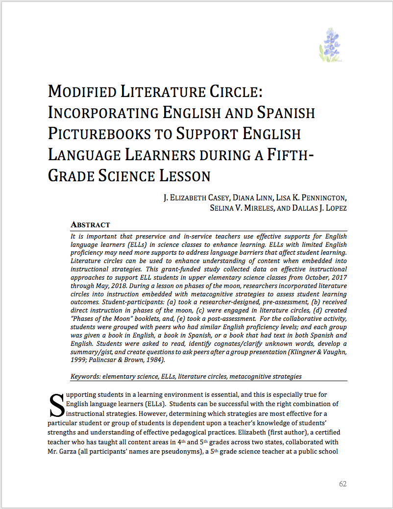 First page of Casey et al. article